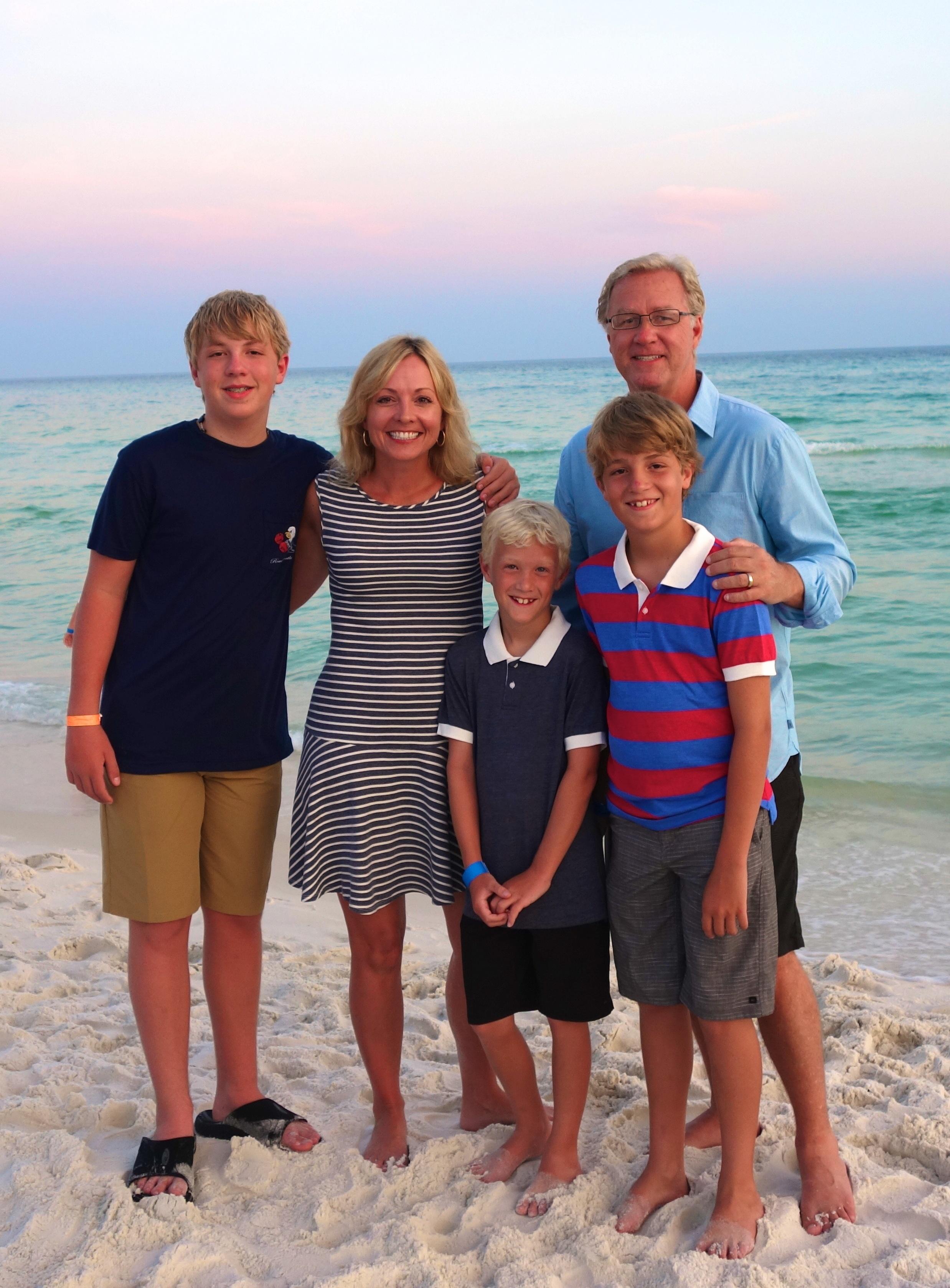 Family on the Beach copy